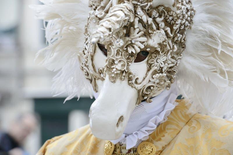 狂欢节威尼斯 意大利 库存图片
