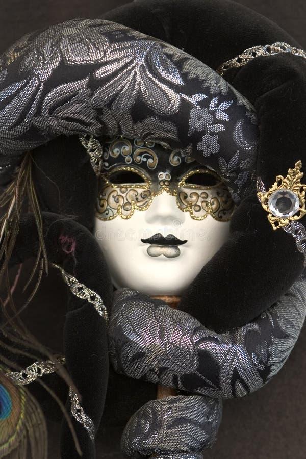 狂欢节屏蔽威尼斯式威尼斯 库存图片