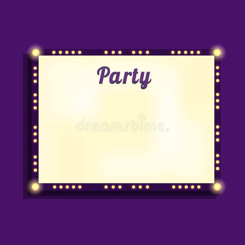 Download 狂欢节广告牌模板 库存例证. 插画 包括有 娱乐场, 装饰, 招待, 背包, 钞票, 晚上, 框架, 信函 - 72364383