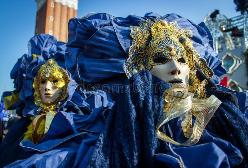 狂欢节装饰著名意大利屏蔽传统venezia威尼斯 库存照片