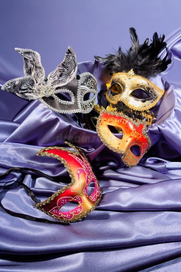 狂欢节面具 库存照片