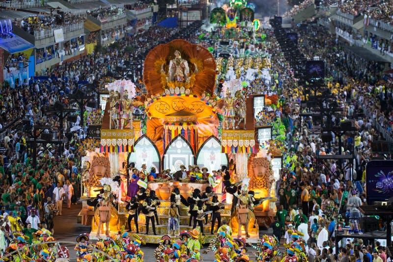 狂欢节2014年-里约热内卢 免版税图库摄影