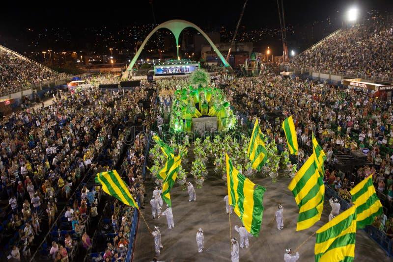 狂欢节2014年-里约热内卢 库存照片
