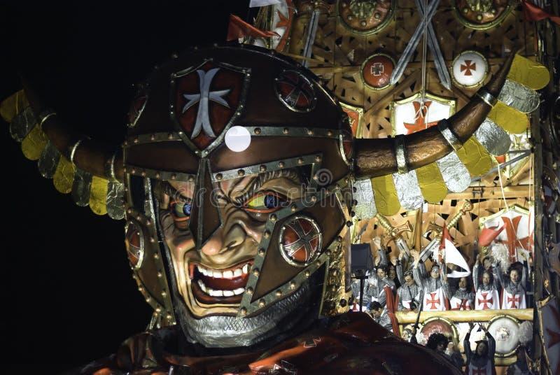 狂欢节viareggio 免版税图库摄影