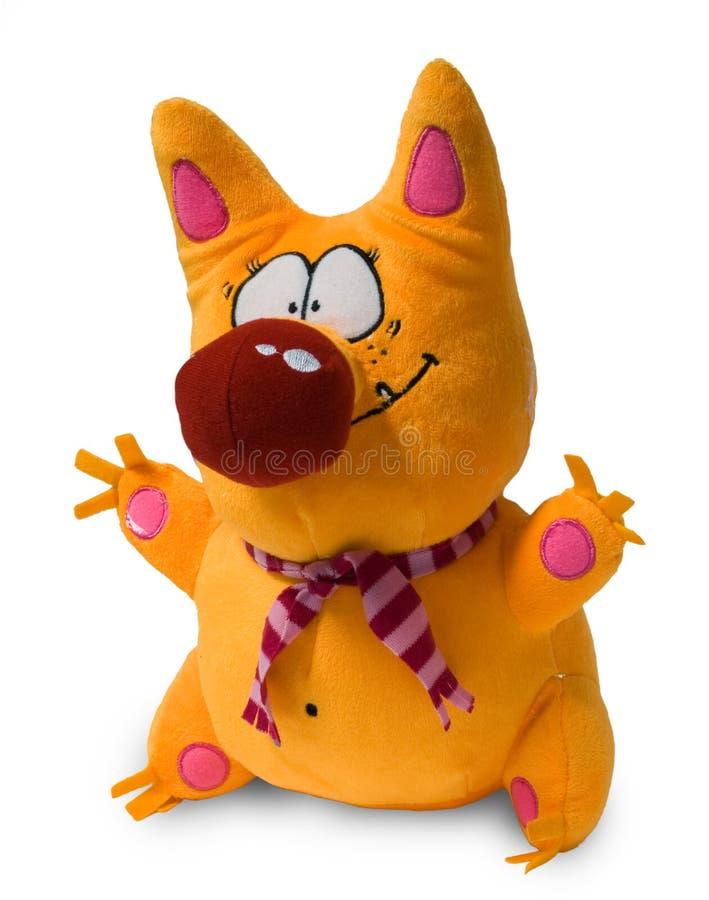 狐狸玩具 免版税库存照片
