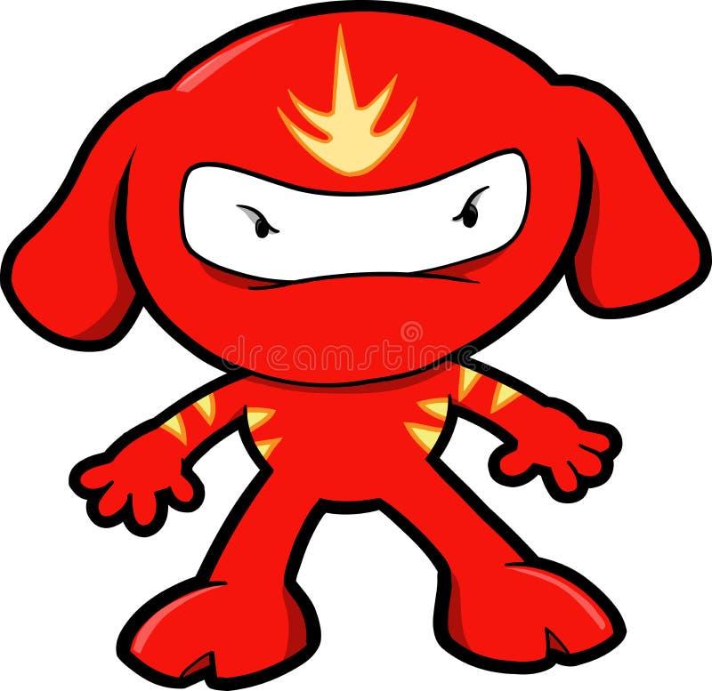 狗例证ninja向量 皇族释放例证
