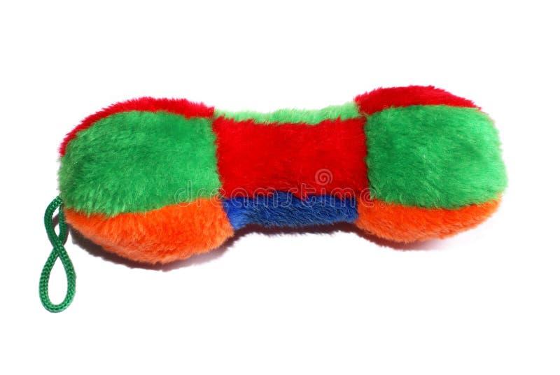 狗吱吱声玩具 免版税库存照片