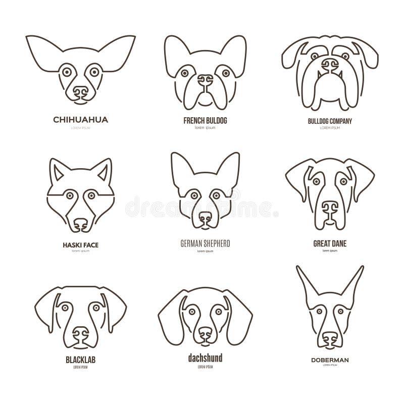 狗品种 皇族释放例证
