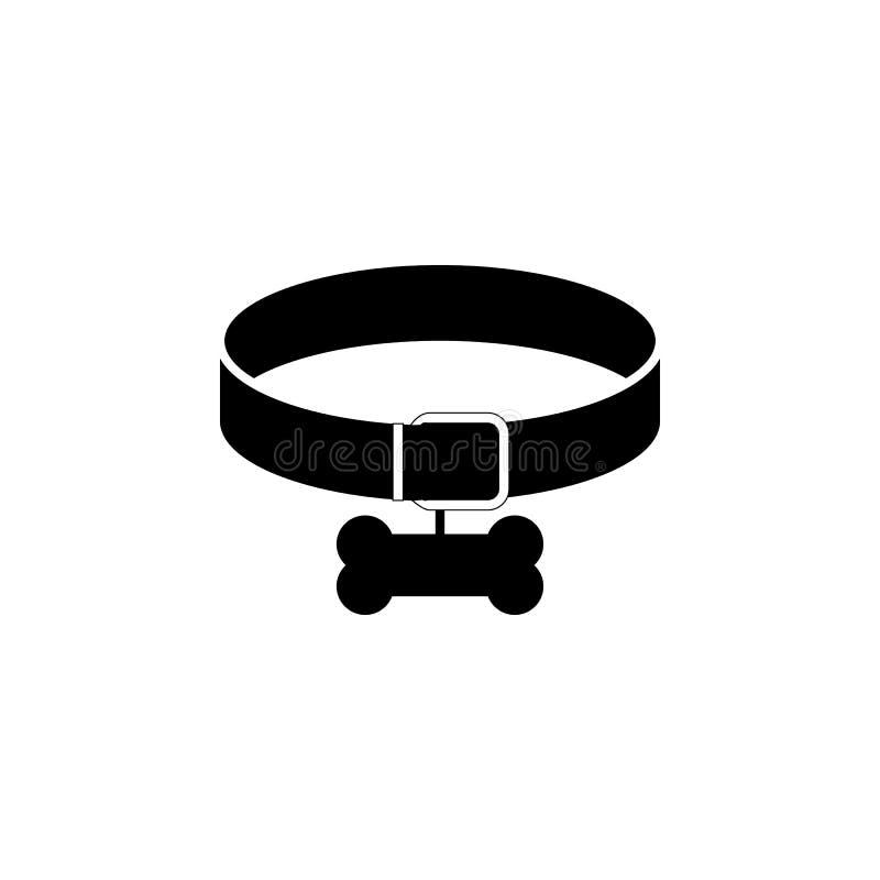 狗项圈象 狗元素象普遍的品种  优质质量图形设计象 狗标志和标志汇集象fo 库存例证