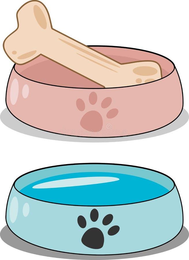 狗食 向量例证