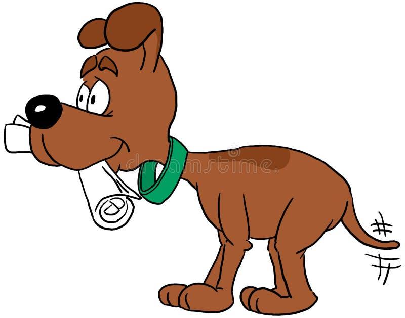 狗 向量例证