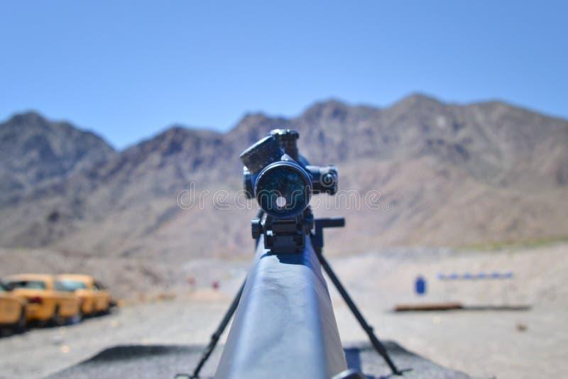 狙击步枪巴雷特0 50口径m81a1 免版税库存图片