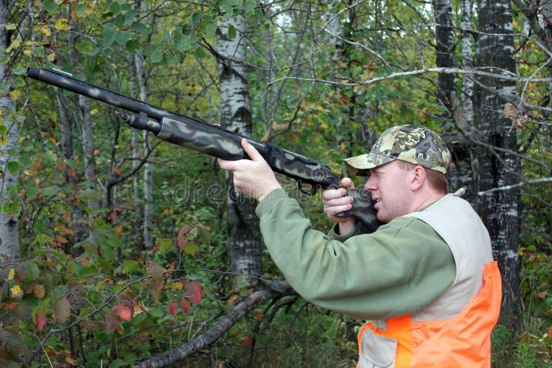 狩猎 免版税库存照片