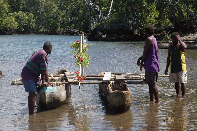 独木舟。 库存图片