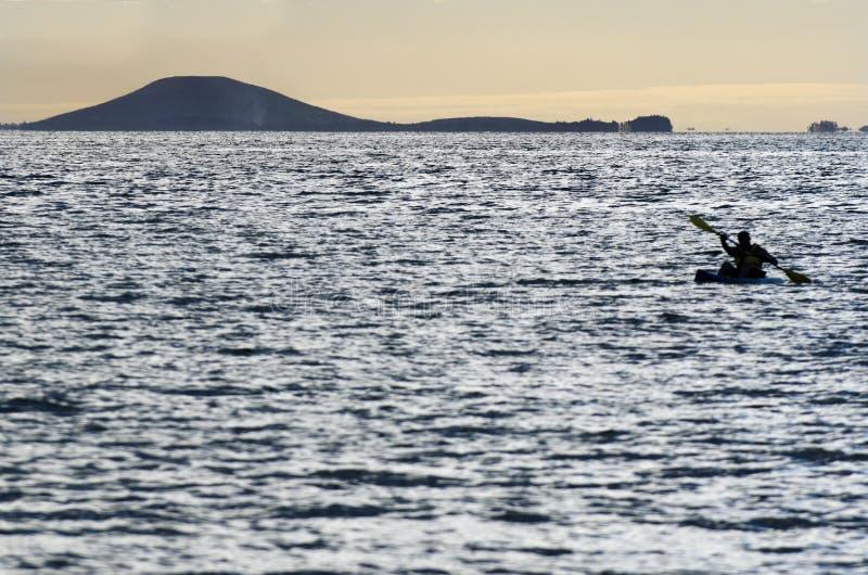 独木舟皮船海运体育运动 库存照片