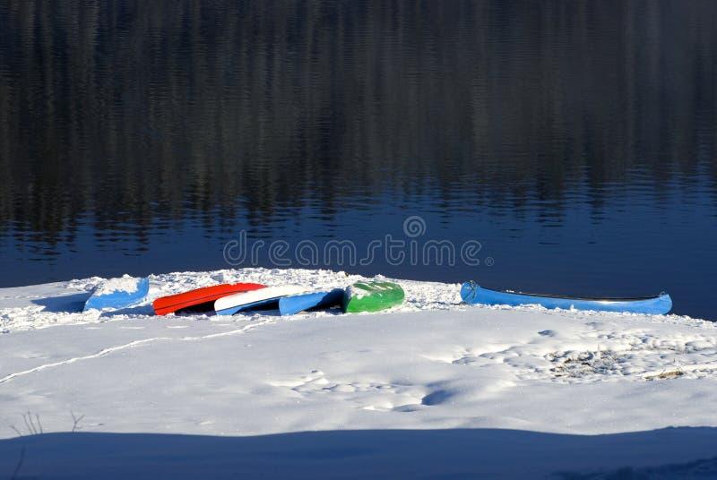 独木舟 库存图片