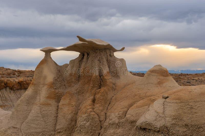独眼巨人的在阿拉巴马小山的头骨曲拱,加利福尼亚 免版税库存图片