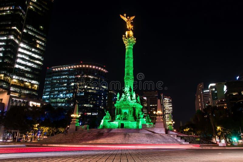 独立天使墨西哥城 免版税库存照片