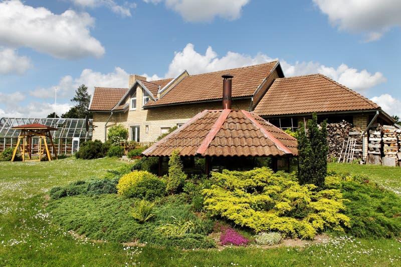 独立式住宅。 免版税库存照片