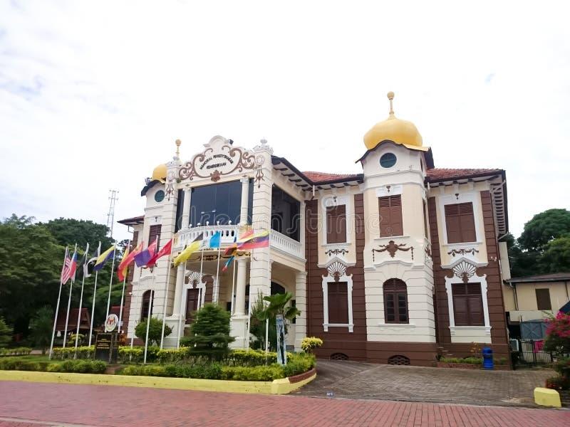 独立纪念品的宣布在Melaka的 免版税库存照片