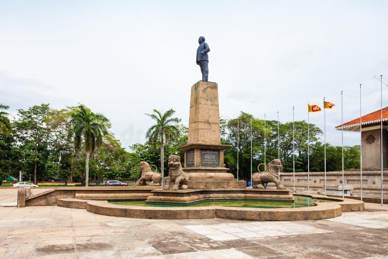 独立纪念堂,科伦坡 图库摄影