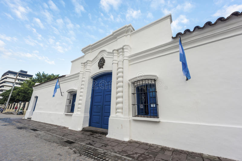 独立议院在土库曼,阿根廷 库存图片