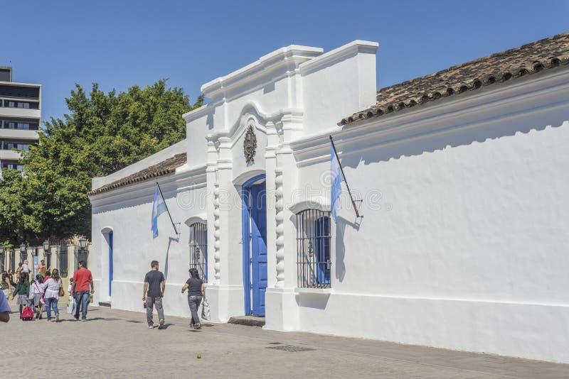 独立议院在土库曼,阿根廷 免版税库存照片