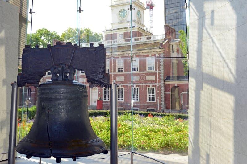 独立钟在费城,宾夕法尼亚 图库摄影