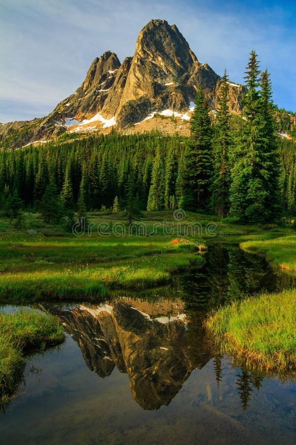 独立钟山,华盛顿州 免版税库存照片