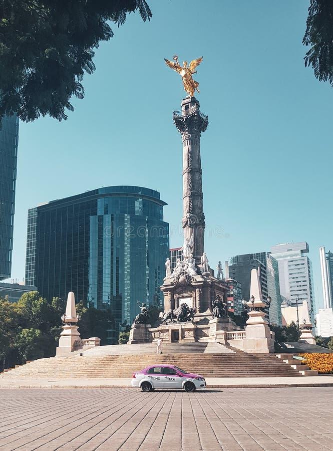 独立,墨西哥城,墨西哥天使  免版税库存照片