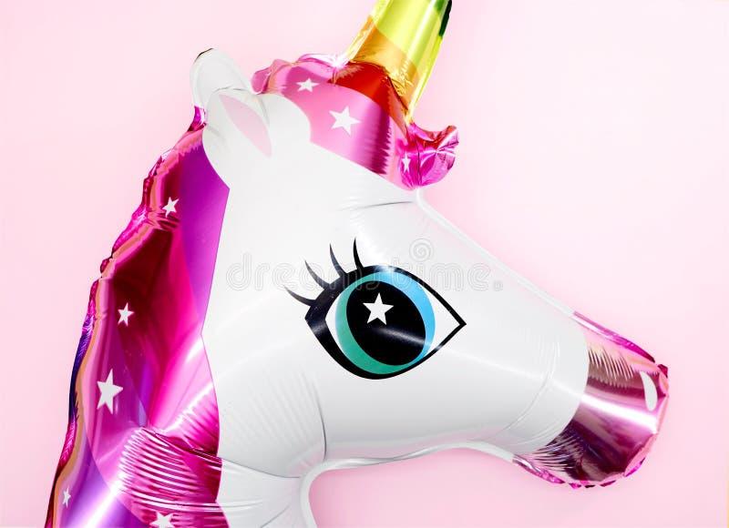 独角兽气球 免版税图库摄影