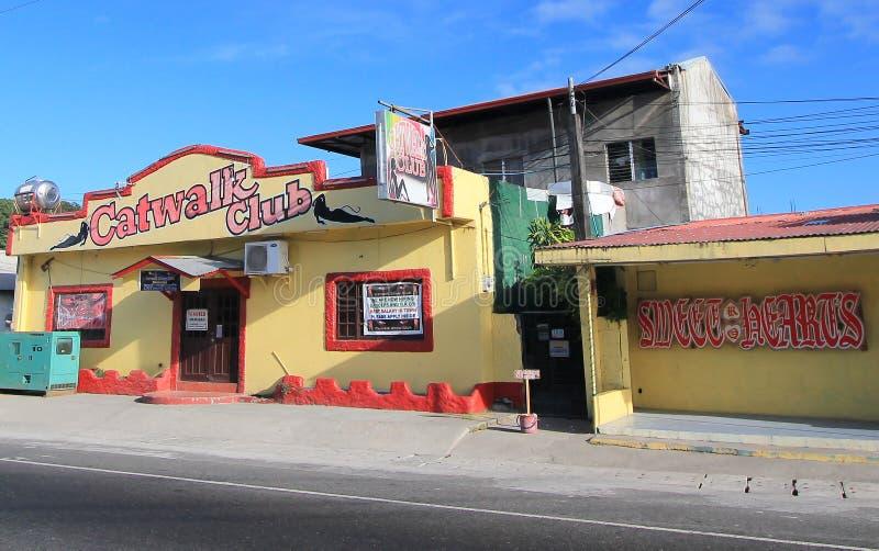 狭小通道俱乐部在菲律宾 免版税库存图片