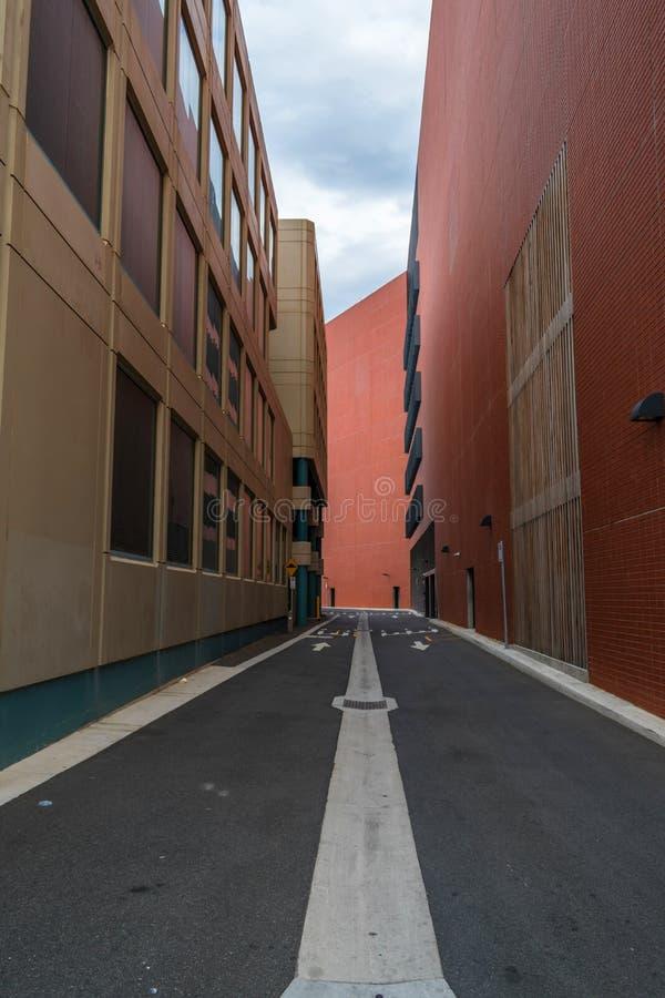 狭窄的街道或段落 库存图片
