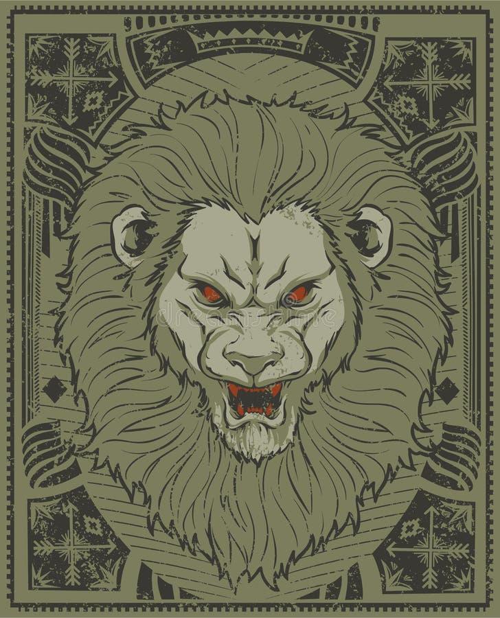 狮子国王 向量例证