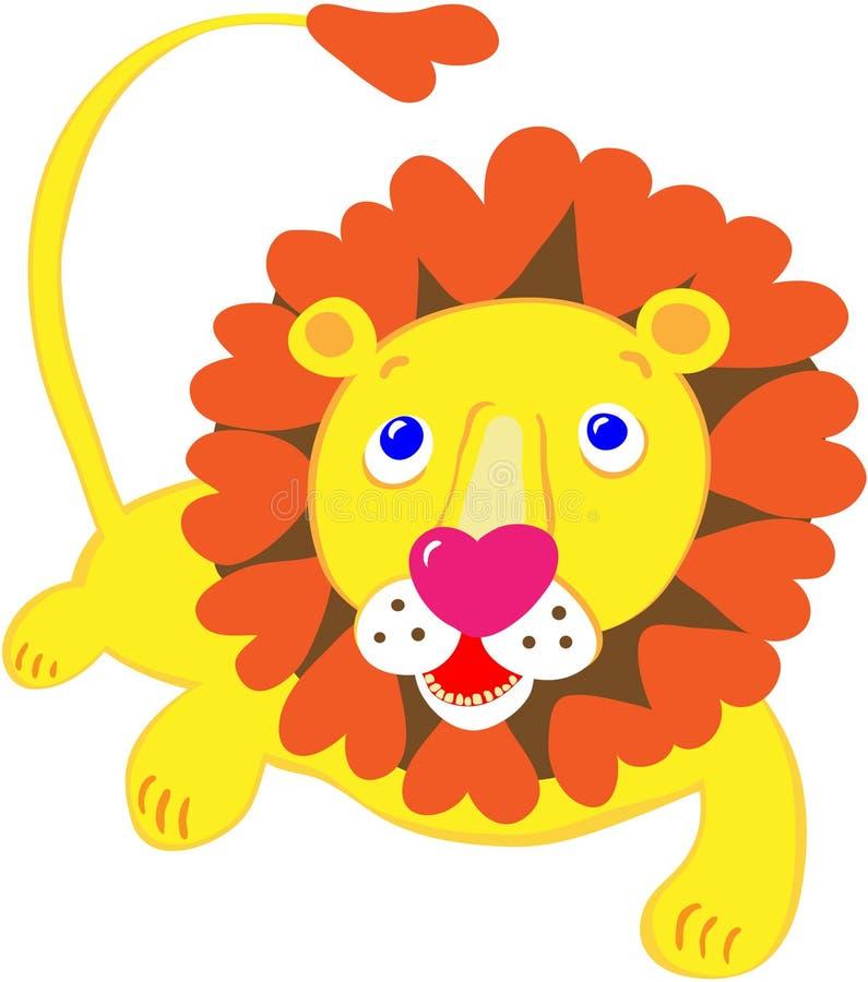 狮子甜点 库存照片