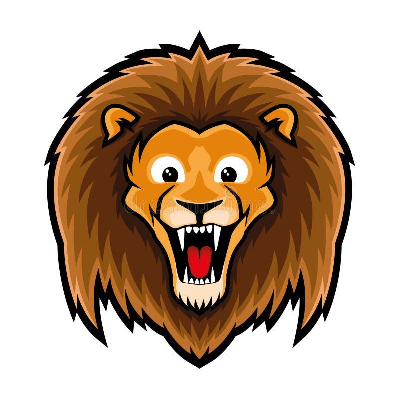 狮子的标志 皇族释放例证