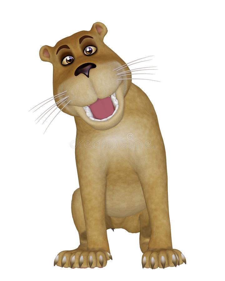 狮子婴孩 库存例证