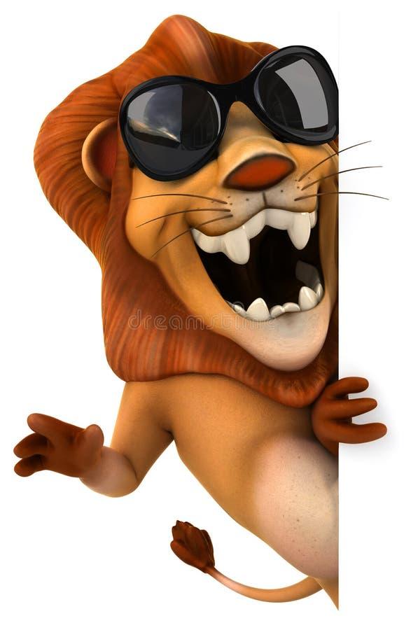 狮子 库存例证