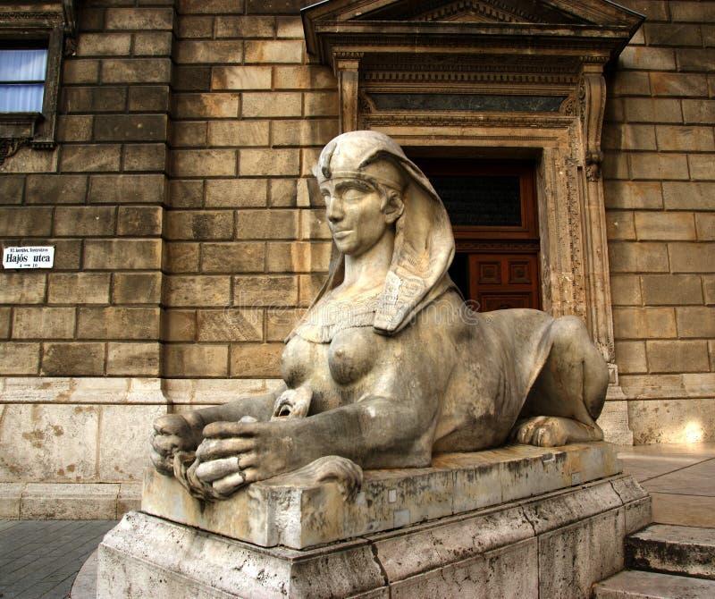 狮身人面象雕象 库存照片