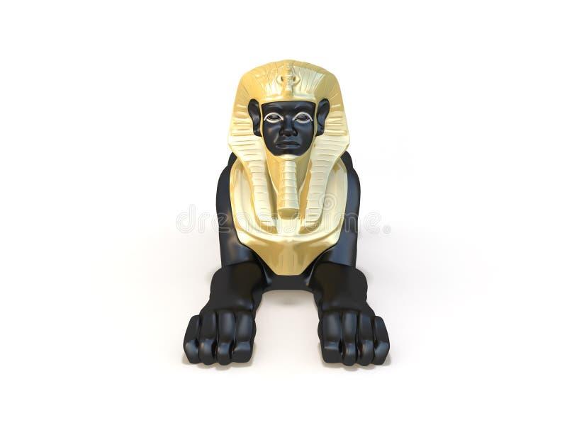 狮身人面象 向量例证