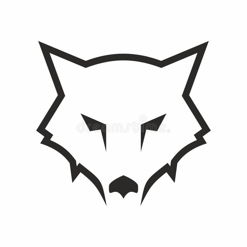 狼抽象商标