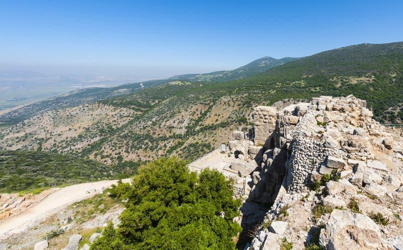 猎人堡垒在以色列 图库摄影