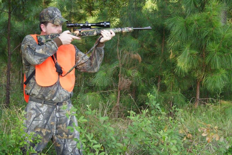 猎人狩猎运动员 库存图片