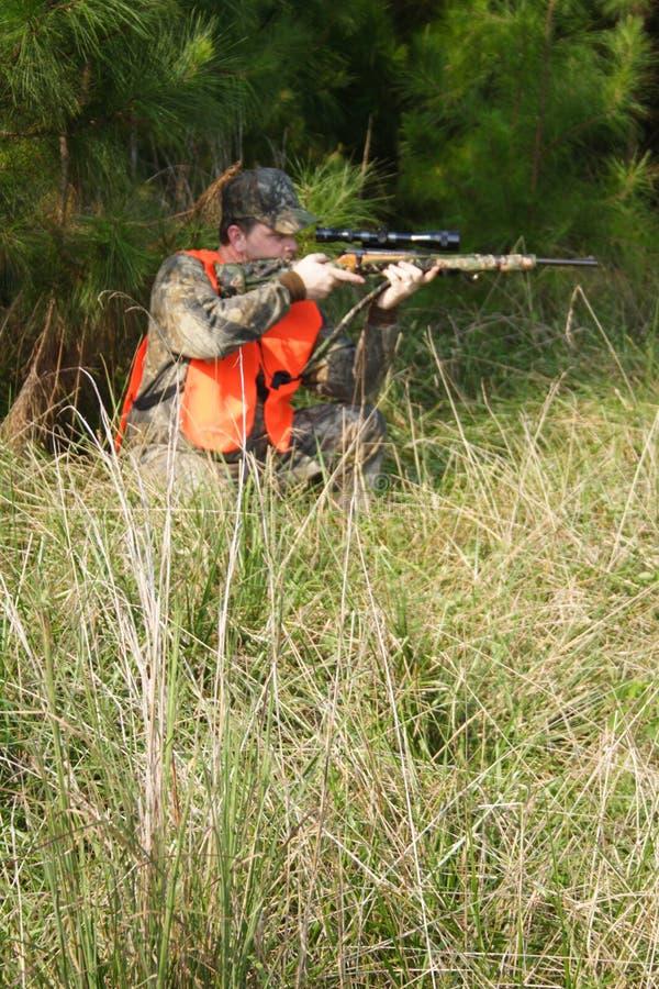 猎人狩猎运动员 免版税库存照片