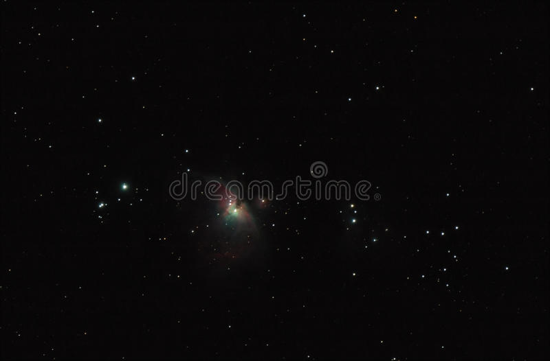 猎户星座星云 免版税库存图片