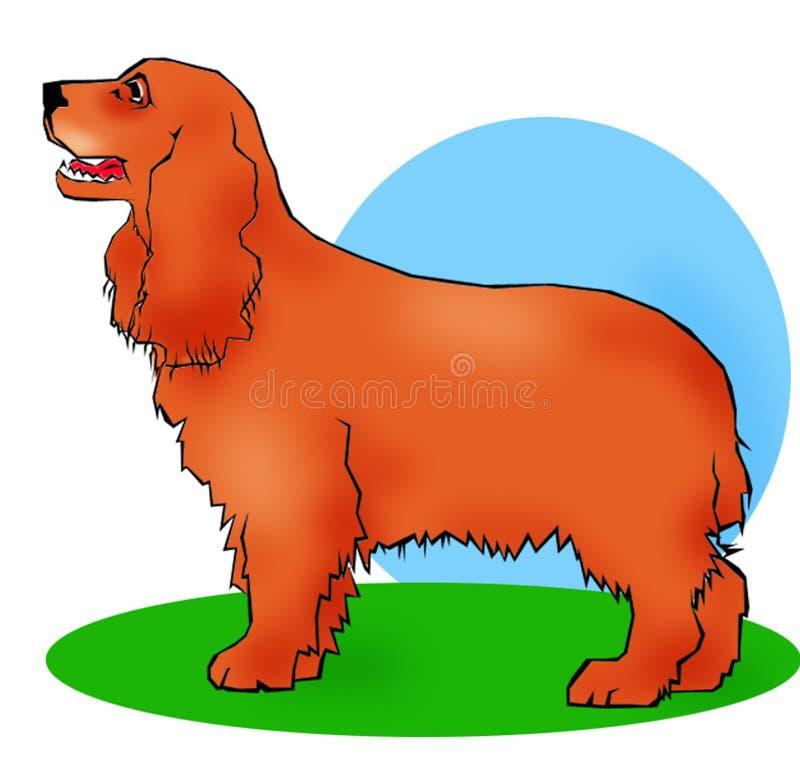Download 猎犬 库存例证. 插画 包括有 图象, 动画片, 宠物, 例证, 斗鸡家, 取指令, 查找, 西班牙猎狗, 逗人喜爱 - 58599