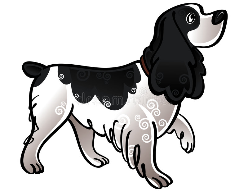 猎犬 向量例证