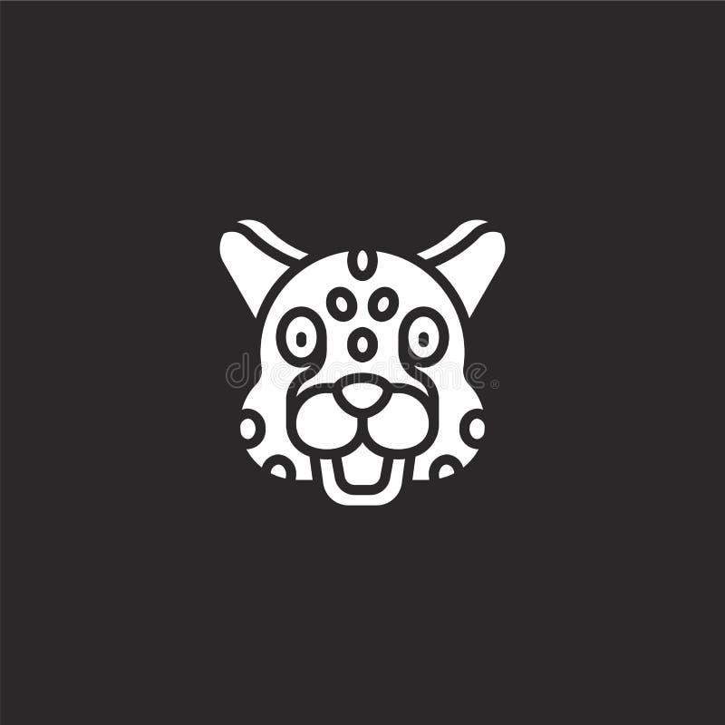 猎豹象 网站设计和机动性的,应用程序发展被填装的猎豹象 从被填装的动物具体化的猎豹象 向量例证