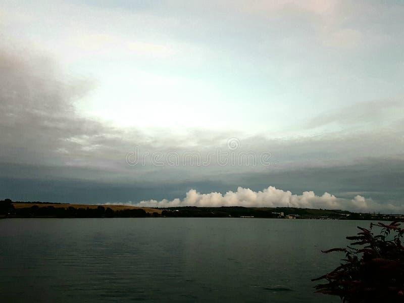 猛冲酿造从海,普利茅斯,德文郡,英国 库存图片