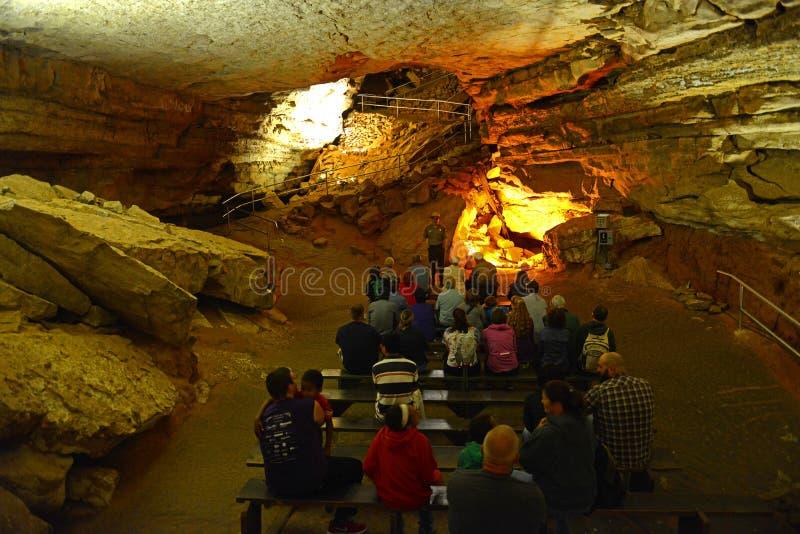 猛犸洞国家公园,美国 库存图片